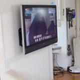 テレビの壁掛け